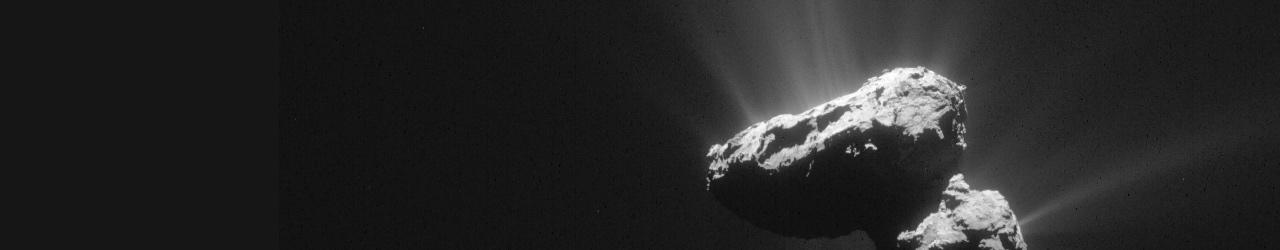 Comet on 14 July 2015 – ESA/Rosetta/NAVCAM – CC BY-SA IGO 3.0