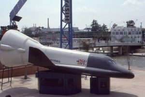 ESA SPace Shuttle Project Hermes Sevilla Expo 92
